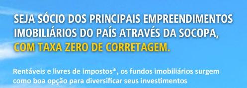 Socopa Corretagem Zero Fundos Imobiliários