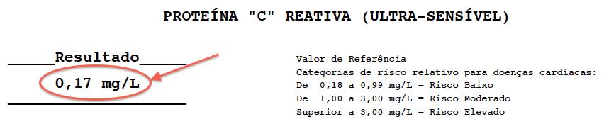 PCR Proteína C Reativa