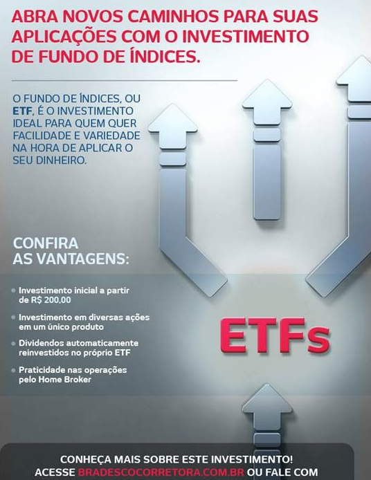 ETFs no Bradesco